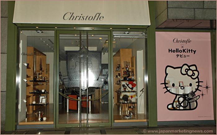 Christofle & Hello Kitty