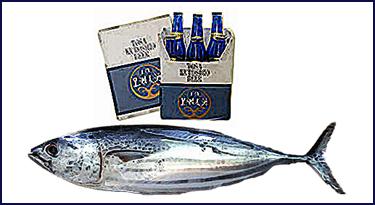 Japanese Fish Beer
