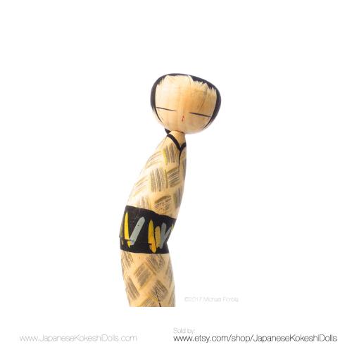 Kokeshi Doll vintage Japanese Doll